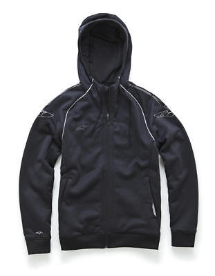 Alpinestars Speedway Zip-Up Hoody Sweatshirt Black XL/X-Large