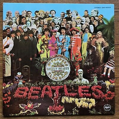 The Beatles Sgt. Peppers Lonely Hearts Club Band Japan gatefold LP 1976 Toshiba