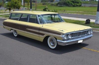 1964 Ford Galaxie  1964 Ford Galaxie Country Squire