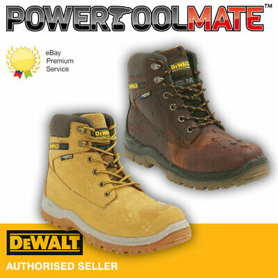 DeWalt Titanium Safety Boots - Tan/Honey - Size 7 TO 12