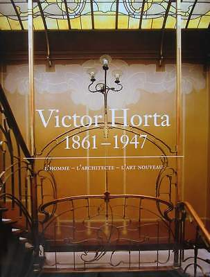FRENCH BOOK : VICTOR HORTA (Belgian art nouveau interior architecture