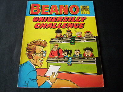 Beano Comic Library N0 109 'universilly Challenge''