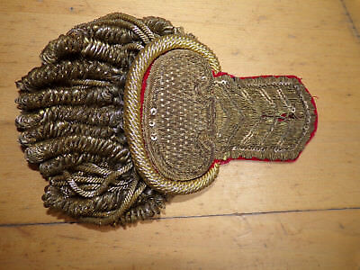 French / Russian 19Th Cent Epaulette