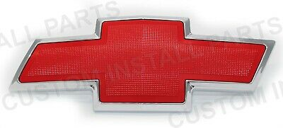 Front Grille Bowtie Red Emblem Replaces 22830014 Fits Avalanche Tahoe Suburban