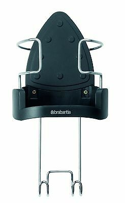 Brabantia Wall Mountable Iron Holder & Ironing Board Hanger Heat Resistant Metal