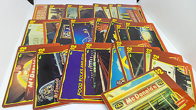 Complete Set of 50 Sprint $2 Score Board 1996 McDonald's Unused Phone Cards