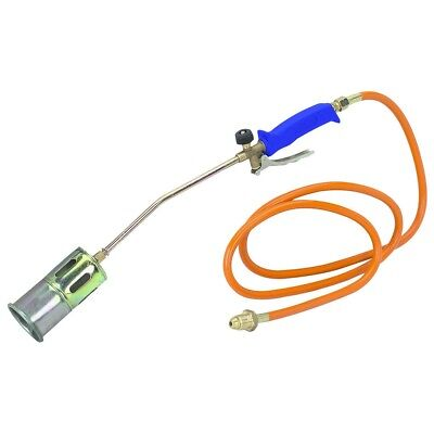 Safe Propane Torch, Weed Burner, Ice Melter, Roofing, with Wrench and Hose