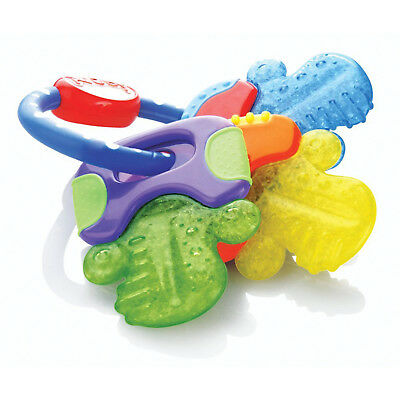 Baby Teether Hard and Soft Gums Massager Teething Keys Toy 3 Pieces BPA Free