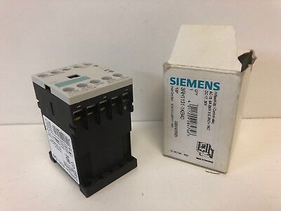 New Old Stock In Box Siemens Contactor 3Rh1131-1Kb40