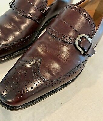 76dd074d9f6fb SALVATORE FERRAGAMO TRAMEZZA $995 Handmade Shoes 9.5 EE - $149.00 ...