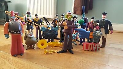 The Beatles Yellow Submarine Figures McFarlane, Whole package of Figures