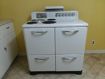 1948 General Electric Airliner Automatic Electric Range JUST PARTS