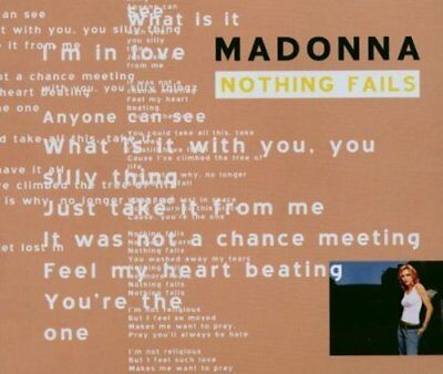 Madonna | Single-CD | Nothing fails (2003, #2426902, remix edition) ...