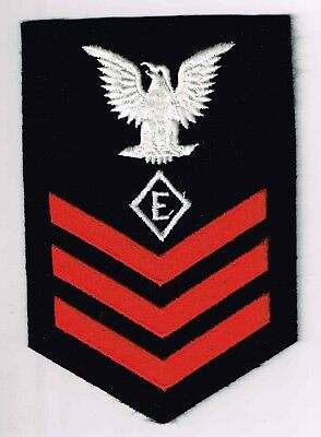 "US Navy  Specialist Rate 1/c ""E"",ec"