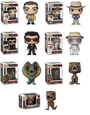 Funko Pop! Movies: Jurassic World The Movie - Single Pieces, Chase Or 7 Pc Set