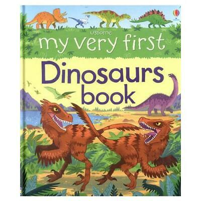My Very First Dinosaurs Book by Alex Frith, Lee Cosgrove (illustrator)