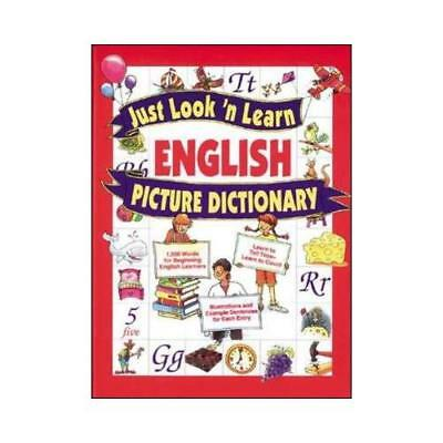 Just Look 'N Learn English Picture Dictionary by Daniel Hochstatter (author)