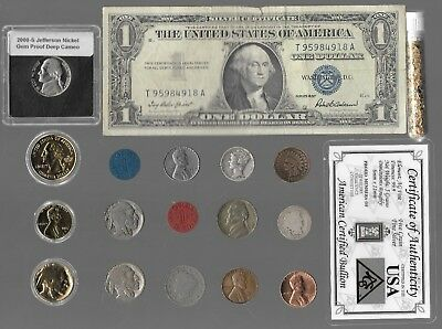Rare Old Silver Dollar Barber Mercury Liberty Indian War US Coin Collection Gold