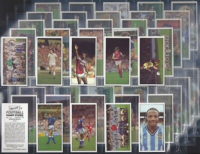 Bassett-Full Set- Football 1987/88 (48 Cards) - Exc+++