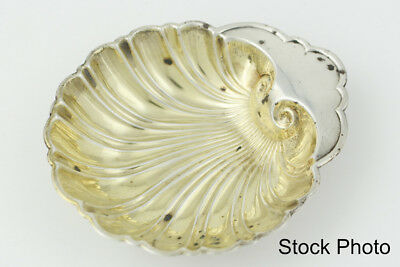 Vintage Gorham Sterling Silver Seashell Shaped Nut/Candy Dish