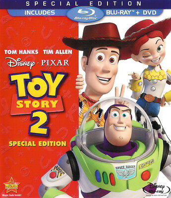 Toy Story 2 ~ Special Edition 2-Disc Blu-ray + DVD With Slipcover FREE Shipping