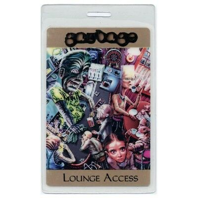 Garbage authentic concert tour Laminated Backstage Pass Shirley Manson Butch Vig