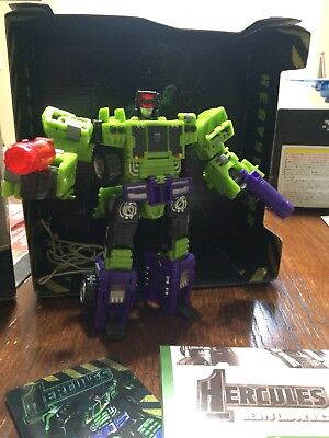 NEW TFC Toy Transformers Hercules Devastator Madblender Figure In Stock