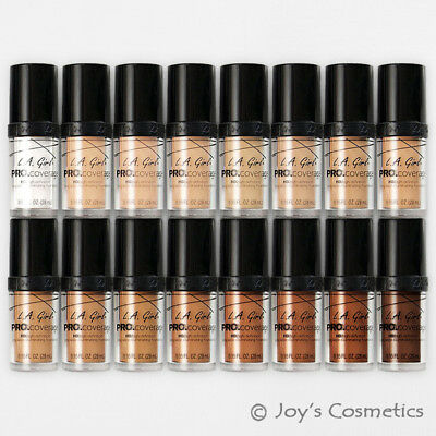 "1 L.A. GIRL Pro Coverage Illuminating Foundation ""Pick Your 1 Color"" *Joy's*"