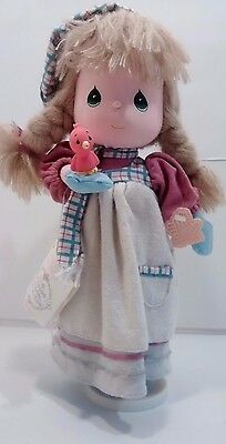 """Precious Moments Musical Doll Four Seasons """"Let it Snow"""" Winter Applause w/Tag"""