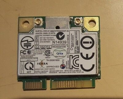 Realtek Rtk-Rtl8188Ce Mini Pci-E Laptop Wi-Fi
