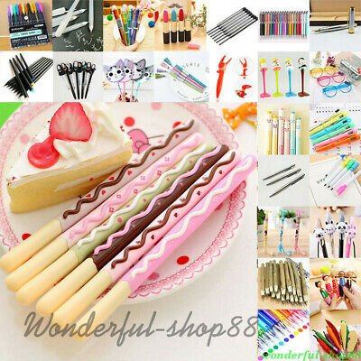 Lots 55Styles Ballpoint Gel Pen Pencil Stationary Student Writing Tool School