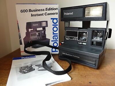 Vintage Polaroid 600 Business Edition Instant Camera