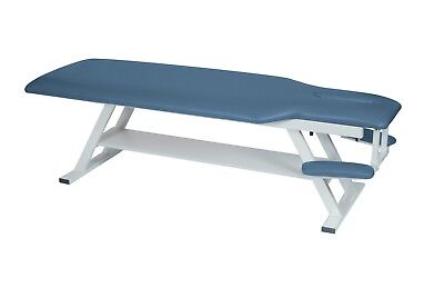 Winco 8600 Chiropractic and Physical Therapy Table with Face Cutout and Armrests