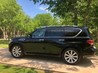 """2012 Infiniti QX56 Leather uper-clean. Meticulously maintained. Gently driven """"Mom"""" car."""