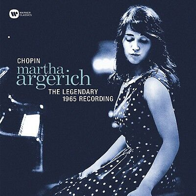 Martha Argerich - The Legendary 1965 Recording  Vinyl Lp New+ Frederic Chopin
