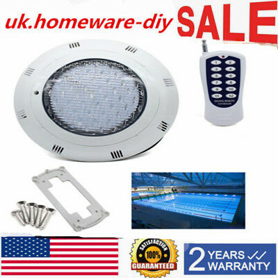 450 LED Swimming pool lights & Spa Light 12V AC/DC RGB + Remoter 45W IP68 Lamp