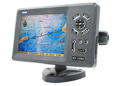 """ONWA KP-708A+: 7"""" GPS Chart Plotter with AIS Transponder and Internal GPS Ant."""