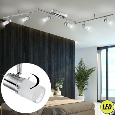 luxus decken lampe led spot balken wohnraum leuchte 24 watt schwenkbare strahler eur 76 80. Black Bedroom Furniture Sets. Home Design Ideas