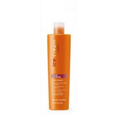 Inebrya Color Shampoo Creme Caramel Capelli Colorati o con Mèches 300 ml