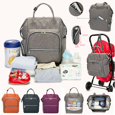 New Diaper Nappy Bag Multifunction Oxford Mummy Backpack Newborn Baby Changing