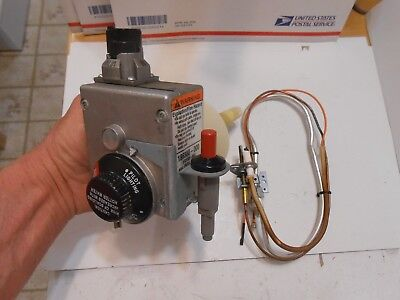 37C73U-652 VALVE 186300-000 plus Pilot/Ignitor Assembly  EXTRA CLEAN, GUARANTEED
