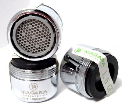 Low Flow Chrome Faucet Aerator 15 16 In 27