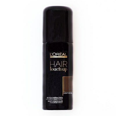 LOREAL HAIR TOUCH UP LIGHT BROWN SPRAY 75 ml CAPELLI RITOCCO RADICI