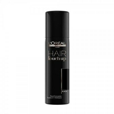 LOREAL HAIR TOUCH UP BLACK SPRAY 75 ml CAPELLI RITOCCO RADICI