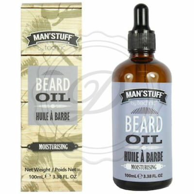 Man'Stuff Beard Oil - Men Gift Moisturising 100ml Soft Silky Dad Hair Scented