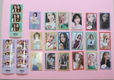 Twice What is Love Official Photocard Stiker  21 Models 트와이스
