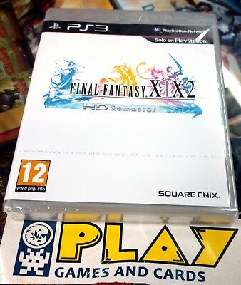 Final Fantasy X X-2 X2 Hd Remaster Sony Playstation Ps3 Nuevo Precintado Sealed