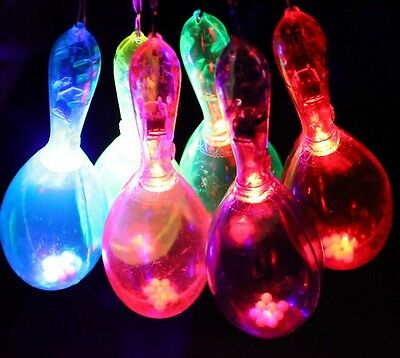 Musical Maracas Instrument Flashing  Color Changing Blinking Toy HC