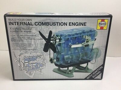 Haynes Build Your Own Internal Combustion Engine with Sound Working Model Sealed