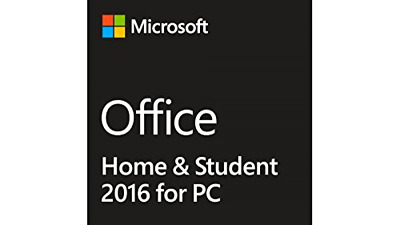 Microsoft Office Home and Student 2016 for 1 PC - New Product Key - Word, Excel